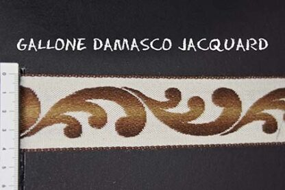 Gallone Damasco Jacquard Art. GDJ803