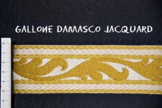 Gallone Jacquard Foglia 800 Art. GJF81874