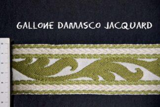 Gallone Jacquard Foglia 800 Art. GJF81876