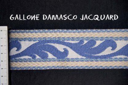 Gallone Jacquard Foglia 800 Art. GJF81879