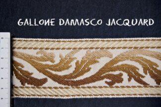 Gallone Jacquard Foglia 800 Art. GJF81886