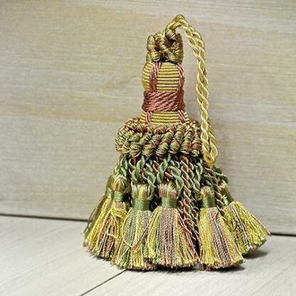 Fiocco Chiave Oro Verde Rosa Art.11327834