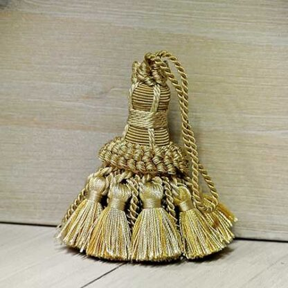 Fiocco Chiave Oro vec. Beige Art.113272