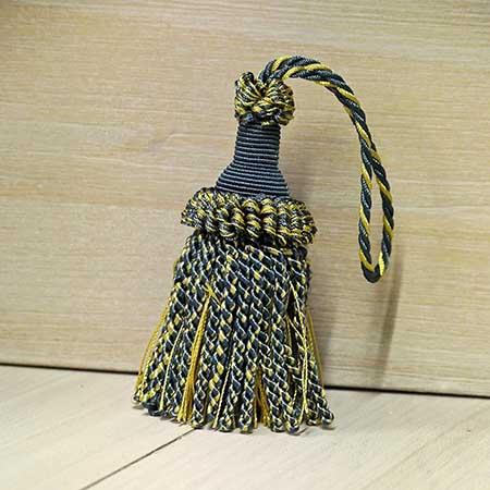 Fiocco Chiave Azzurro Giallo Art.1807269