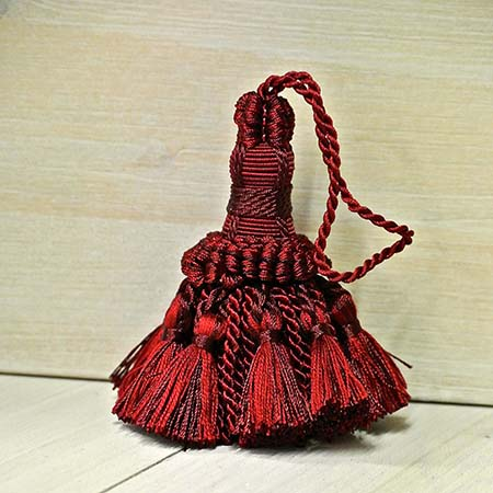 Fiocco Chiave Bordeaux bicolore Art.11321920