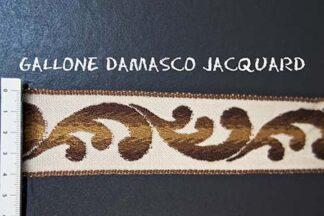 Gallone Damasco Jacquard Art. GDJ835