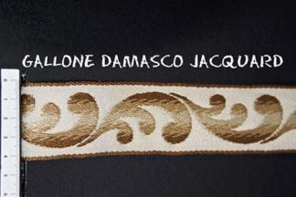 Gallone Damasco Jacquard Art. GDJ839