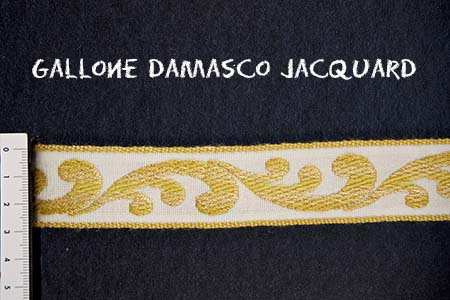 Gallone Damasco Jacquard Art. GDJ1893