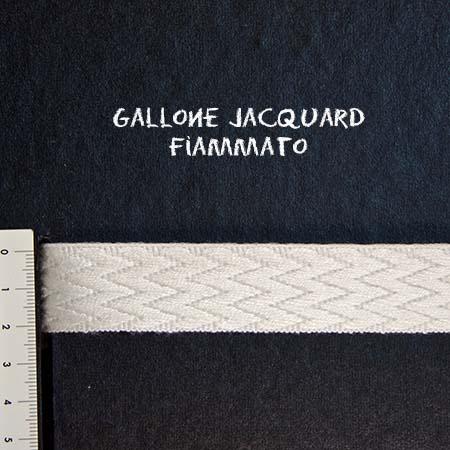 Gallone Fiammato Jacquard Art. GFJ101