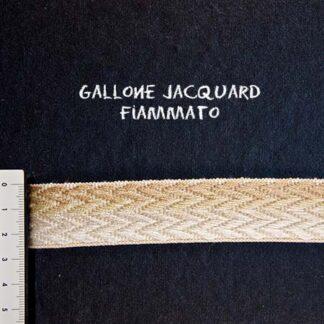 Gallone Fiammato Jacquard Art. GFJ162
