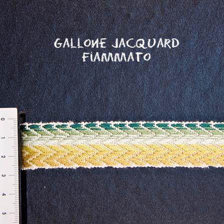 Gallone Fiammato Jacquard Art. GFJ110