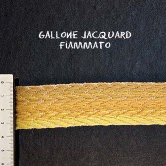 Gallone Fiammato Jacquard Art. GFJ111