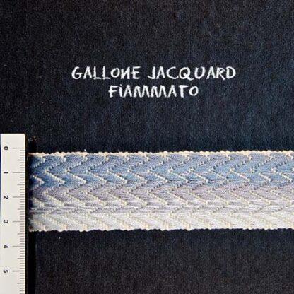 Gallone Fiammato Jacquard Art. GFJ114