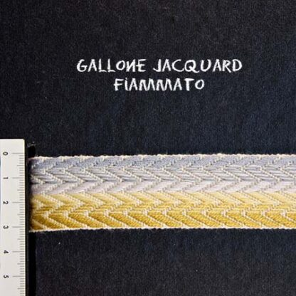Gallone Fiammato Jacquard Art. GFJ115