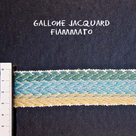 Gallone Fiammato Jacquard Art. GFJ116