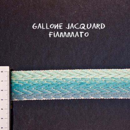 Gallone Fiammato Jacquard Art. GFJ126