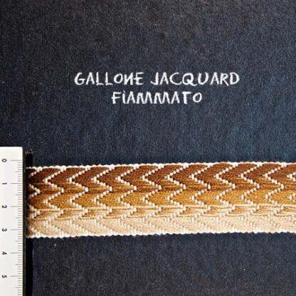 Gallone Fiammato Jacquard Art. GFJ152