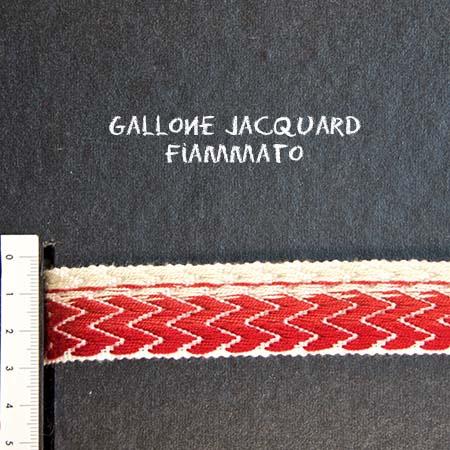 Gallone Fiammato Jacquard Art. GFJ179