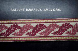 Gallone Jacquard Foglia
