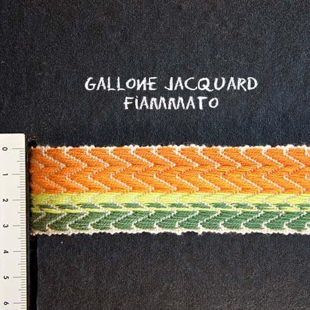 Gallone Fiammato Jacquard Art. GFJ118